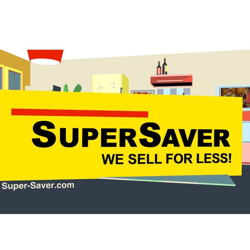 Super Saver30-Second Animated TV Spot