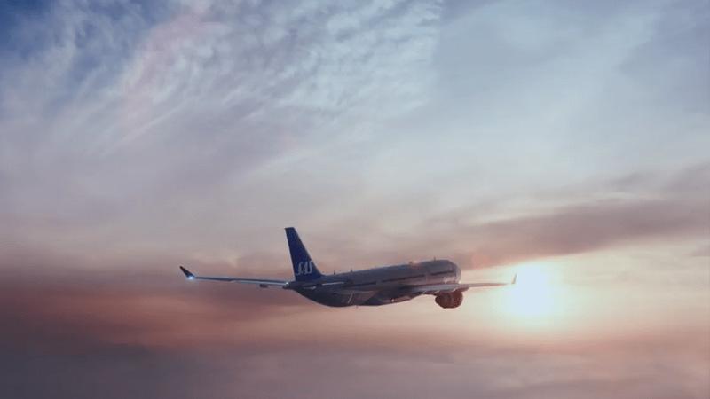 Scandinavian Airlines 45-Second TV Spot